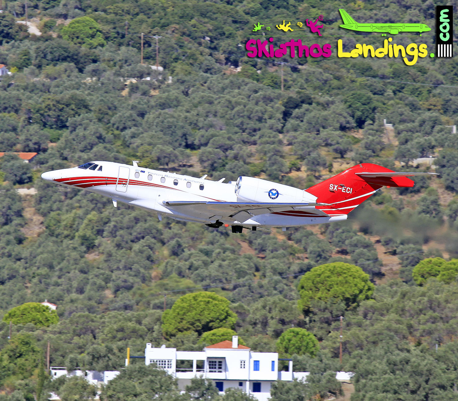 Visual aids back in service at Skiathos