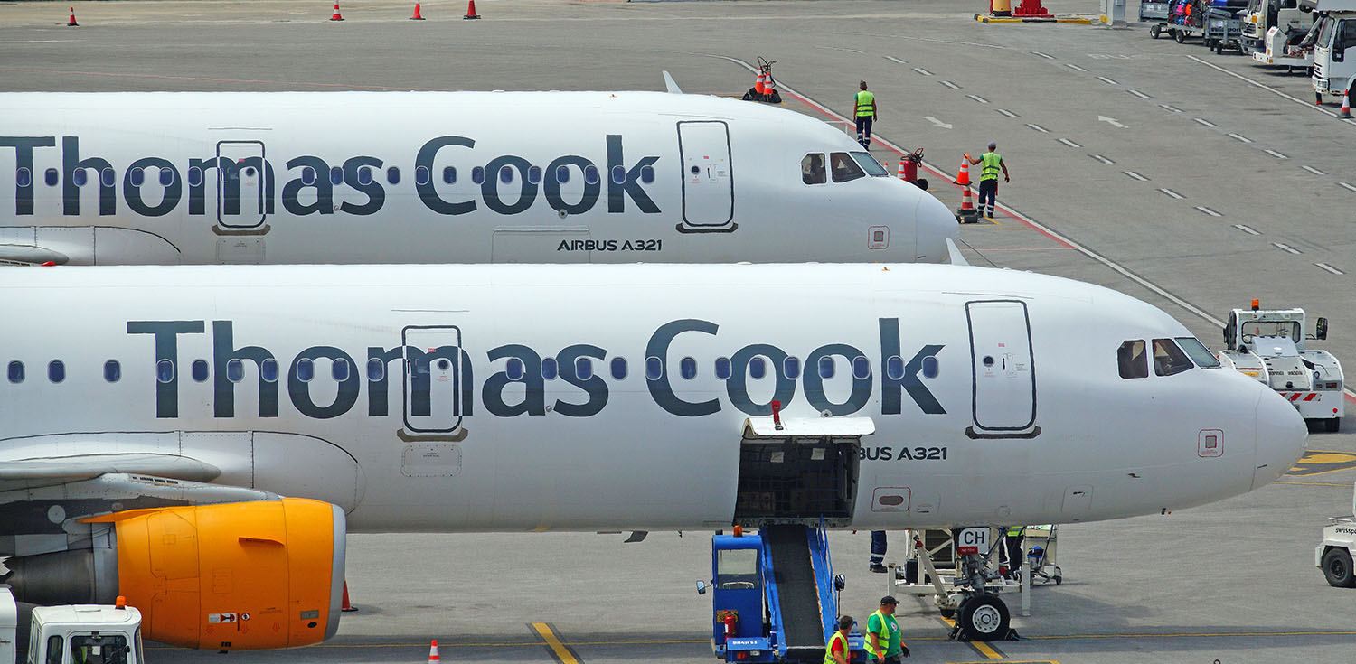 Thomas Cook Scandinavia back in service
