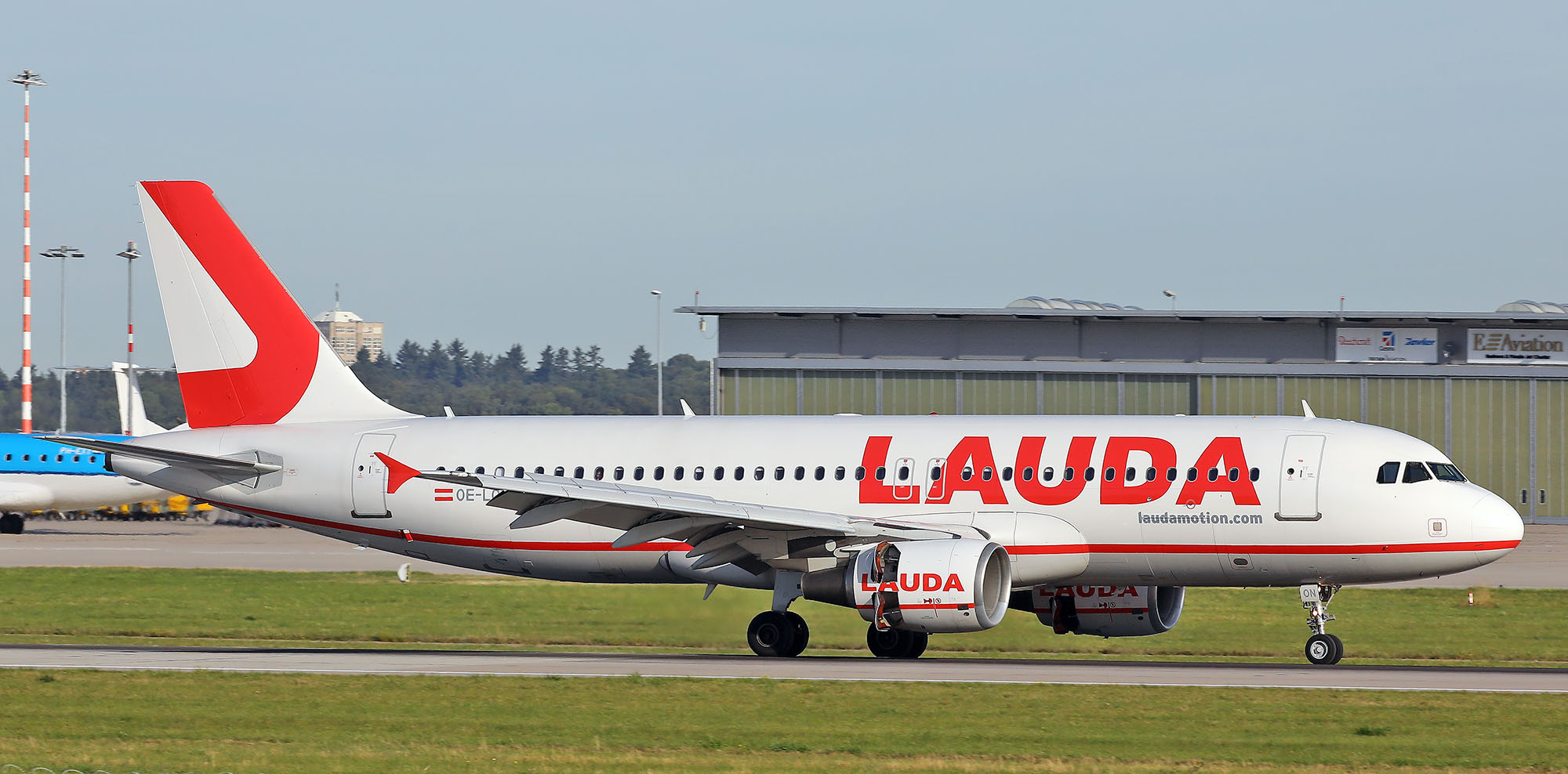 Laudamotion in Skiathos for 2020