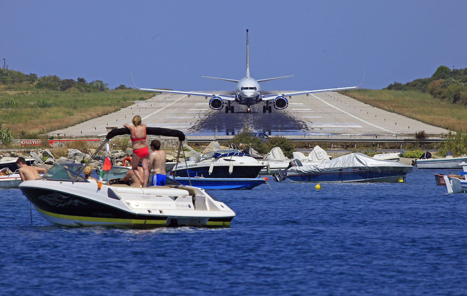 Skiathos Airport nominated for Europe's most Scenic Airports Award 2020