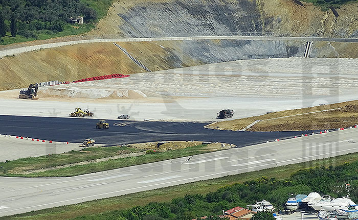 New taxiway in operation at Skiathos airport