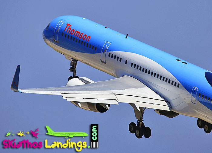 Thomson B757 diversion due technical