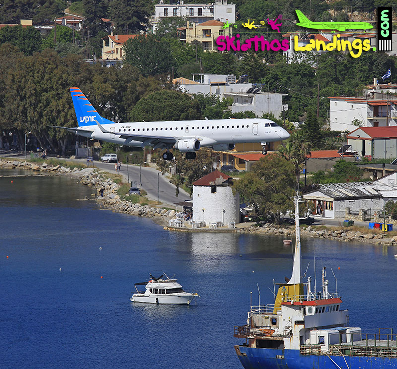 Arkia charter flights to Skiathos