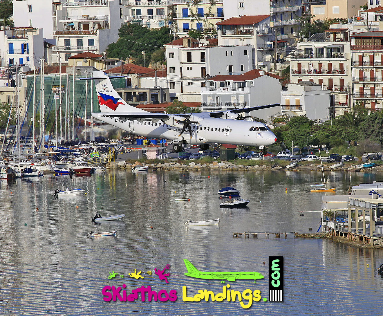 New aircraft for Sky Express ATR72-500 at Skiathos