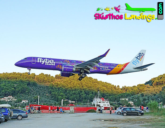 Flybe announces new route to Skiathos from Southampton Airport