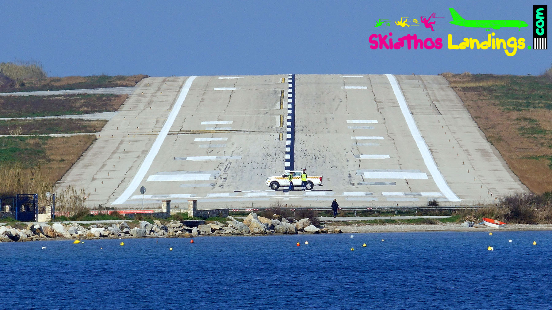 Skiathos airport runway designators change