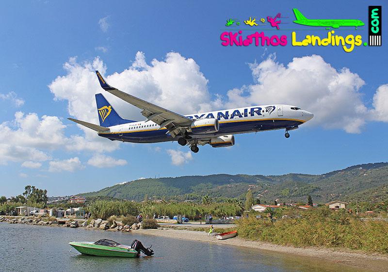 Ryanair launches Pisa-Skiathos route
