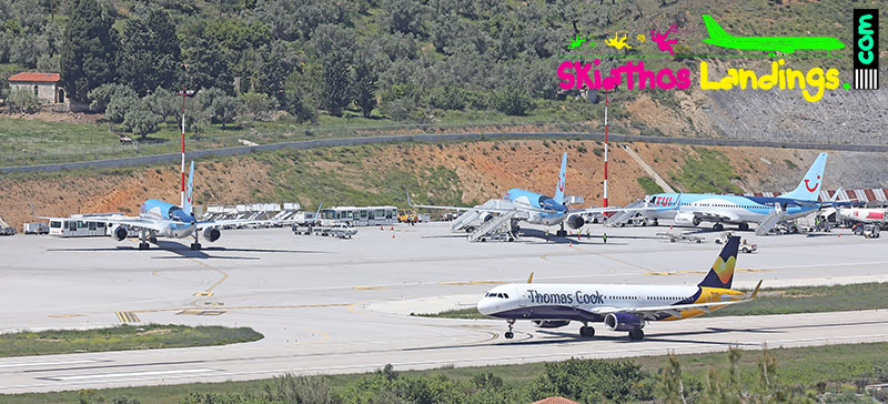 Skiathos Summer 2020 traffic (fall)