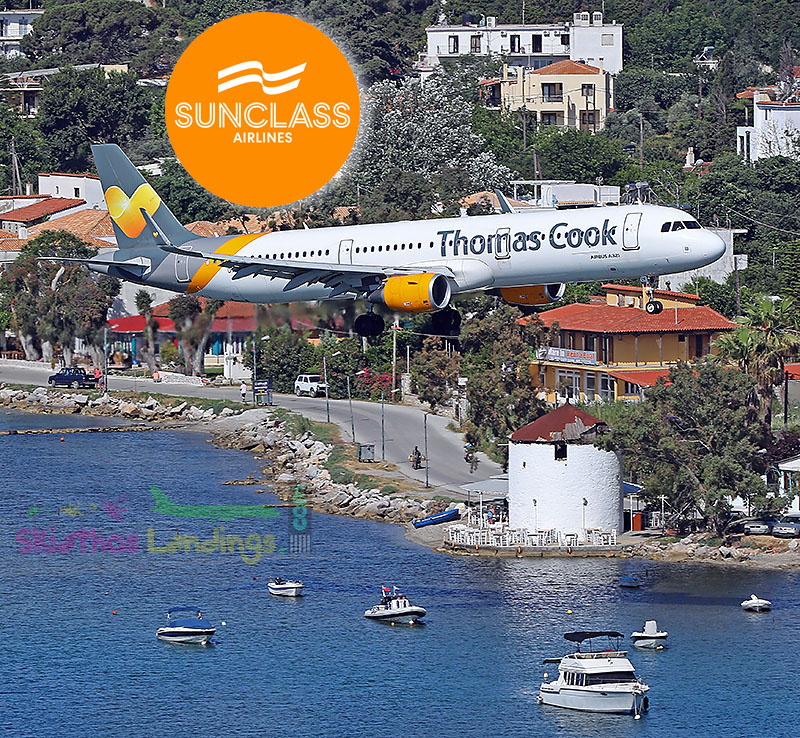 SUNCLASS Airlines at Skiathos for 2021