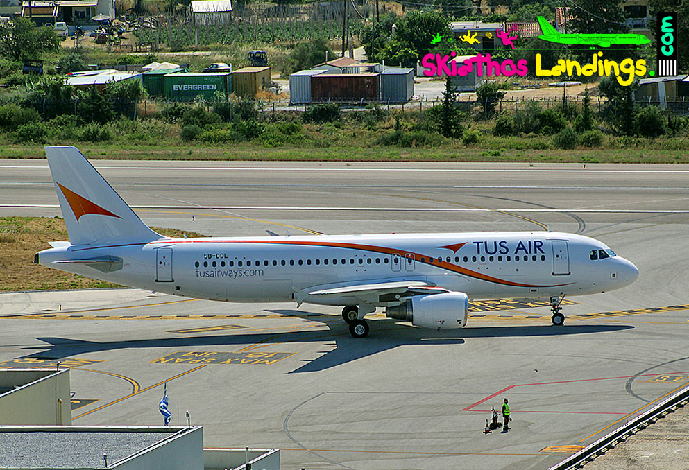 Flights from Cyprus to Larnaca for 2021 – TUS Airways first flight